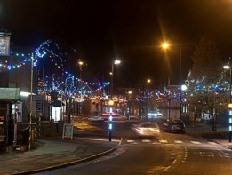 Portishead Christmas Lights Switch On image