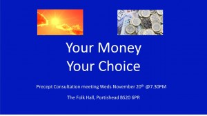 Your Money Your Choice - Precept Consultation Meeting image