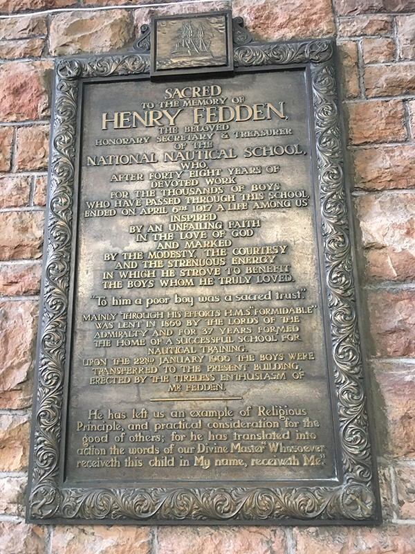 H: Memorial to Henry Fedden photo